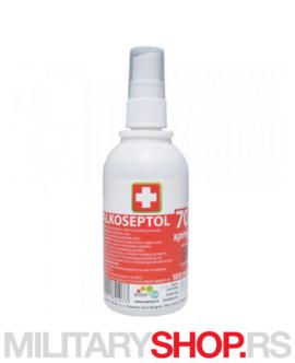 Sredstvo za dezinfekciju Alkoseptol 70% 100ml