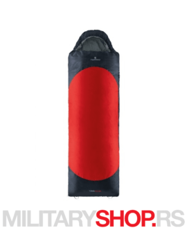 Vreća za spavanje crvena Ferrino Yukon-SQ