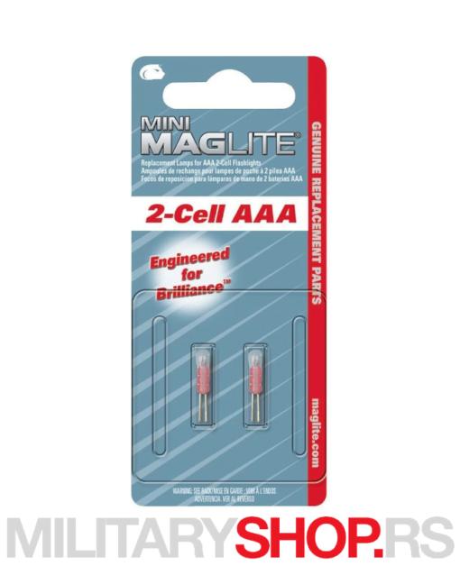 Rezervne sijalice set Maglite LM3A001