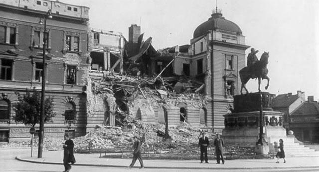 Aprilsko bombardovanje Beograda