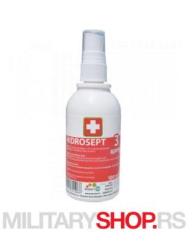 Dezinfekcijski sprej Hidrosept 3% 100ml