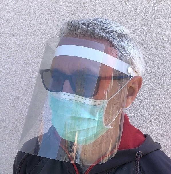 Zaštitni vizir maska za lice