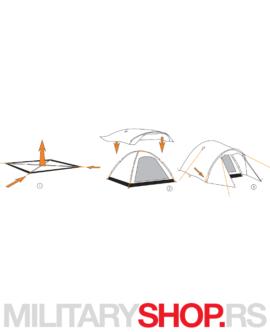 Šator za četiri osobe Nordmarka