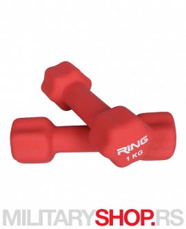 Bučice za aerobik 2×1kg Ring