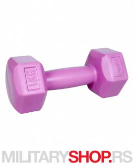 Bučica za aerobik Ring teg 1kg