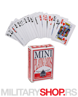 Mini karte za igranje Playing Cards
