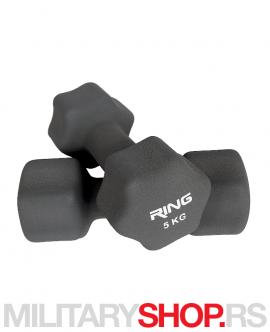 Tegovi bučice za vežbanje Ring 2x5kg