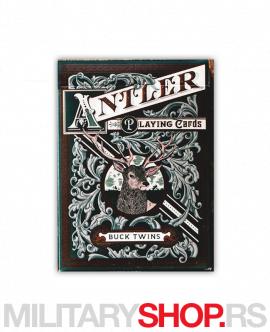 Karte sa lovačkim motivima Antler Green