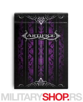 Karte za igranje Artifice Purple Deck