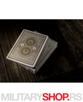 Retro karte za igranje Artisans White
