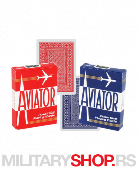 Karte za igranje standardne Aviator