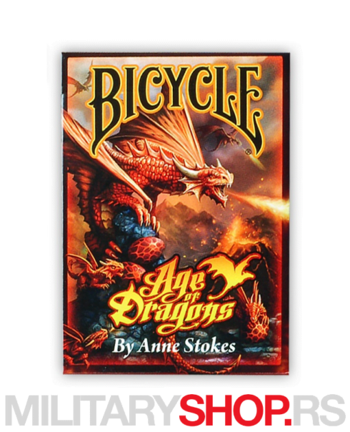 Karte Bicycle Age of Dragons