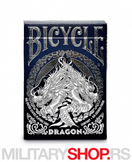 Karte za igranje Bicycle Dragon dizajn