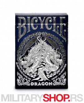 Karte za igranje Bicycle Dragon dizajn