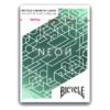 Karte za igranje Bicycle Neon Cardistry
