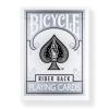 Karte za igranje srebrne Bicycle Silver