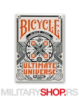 Karte za igranje Bicycle Ultimate Universe
