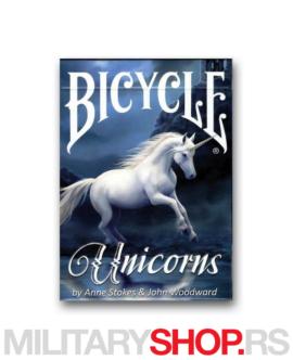 Karte Bicycle Unicorn Anne Stokes