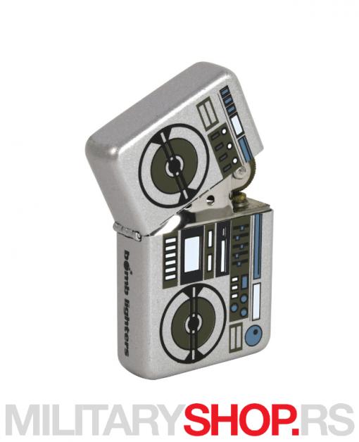 Upaljač metalik sa kasetofonom Bomb Lighter