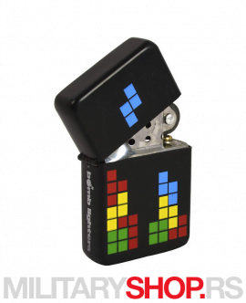 Crni upaljač tetris Bomb Lighters