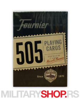 Karte za igranje plave Fournier 505