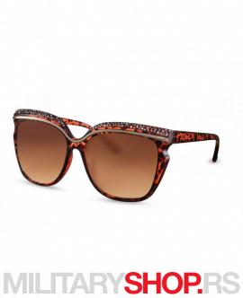 Ženske sunčane naočare braon Joy NDL1564