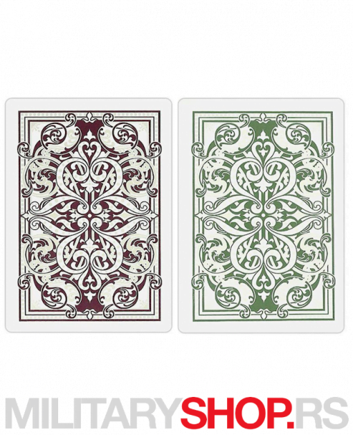 Poker karte KEM 2011 Jacquard Wide
