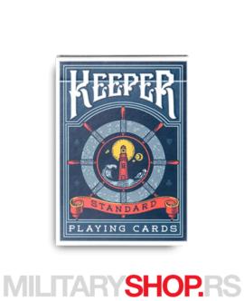 Keepers karte za igranje Adama Wiblera