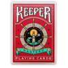 Keepers karte za igranje crvene