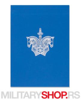 Špil karata za igranje Knights Blue