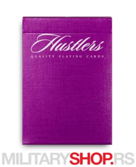Karte ljubičaste Madison Hustlers Purple Deck
