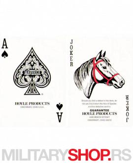 Karte za igranje standardne Maverick