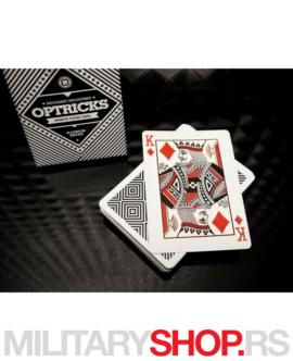 Karte za igranje Mechanic Optricks Deck