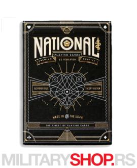 Karte za igranje National