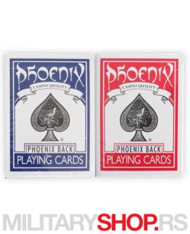 Karte za igranje Phoenix Standard
