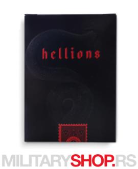 Karte za igranje Hellions Red