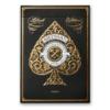 Retro karte za igranje Artisans Black