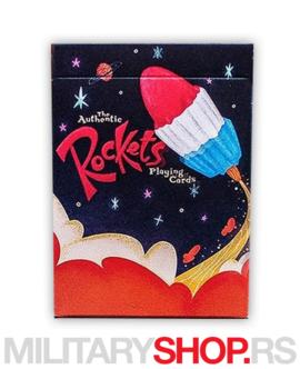 Špil karata za igranje Rockets Deck
