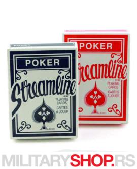 Karte za igranje pokera Streamline Standard