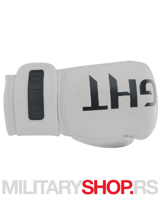 Techniko TFight bokserske rukavice bele 12oz