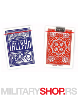 Karte za igranje Tally-Ho Standard Fan
