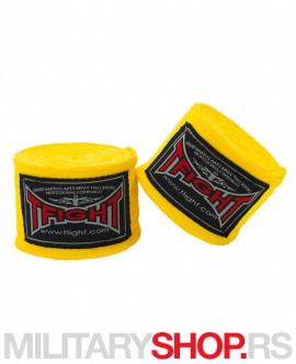 Sportski bandažeri elastični 4.5m žuti TFight