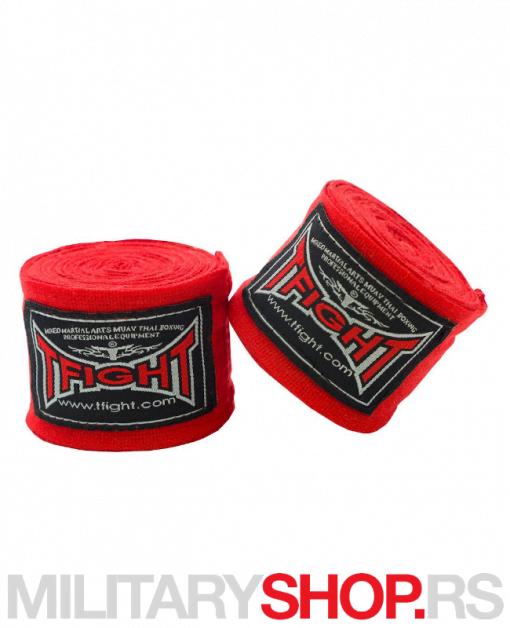 Elastični bandažeri 4.5m crveni T-fight