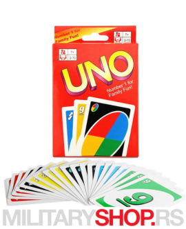 UNO karte za igranje