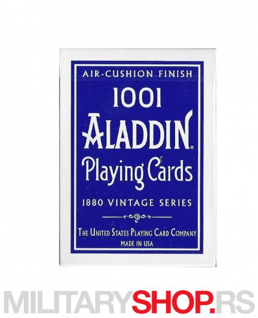 Retro karte za igranje Aladdin 1001