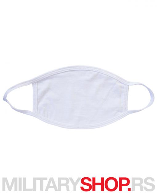 Višekratna zaštitna maska za lice bela
