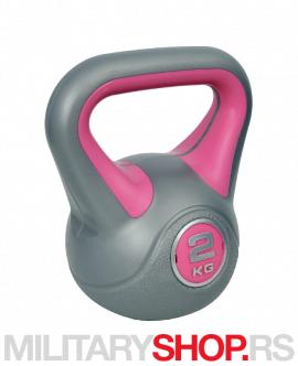 Teg za vežbanje 2kg Ring Kettlebell