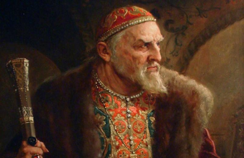 Ruski car Ivan Grozni