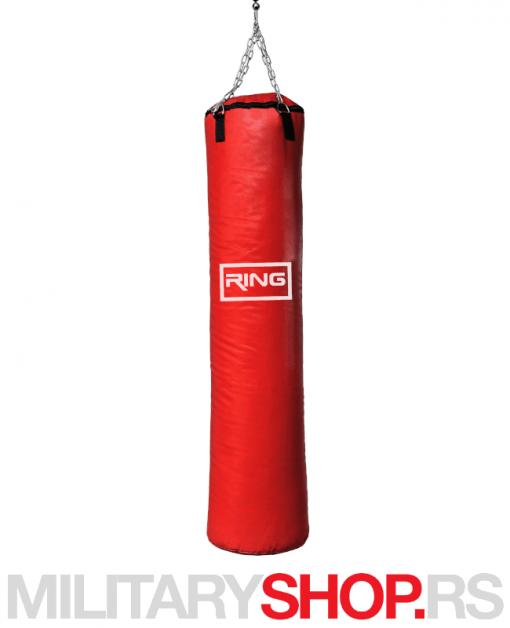 Profesionalni boks džak Ring crveni 165×40