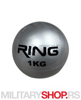 Medicinska lopta 1kg Ring Sand Ball